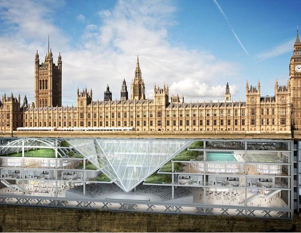 Φωτογραφία από τη Daily Mail. Το 2115 ποτέ δεν θα ξέρεις τι μπορεί να υπάρχει κάτω από ένα κτήριο...