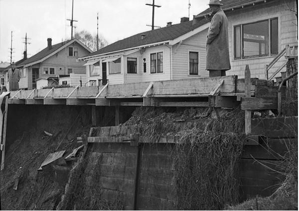 Πηγή φωτογραφίας: Source Westlake Avenue landslide, 1955,Uploaded by Jmabel,Author Seattle Municipal Archives from Seattle, WA