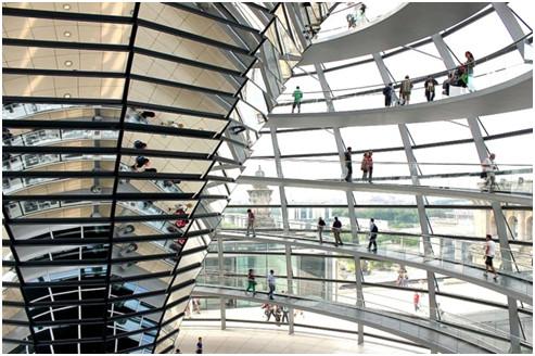 Ο Θόλος στο Κοινοβούλιο του Βερολίνου
